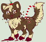 Cherry Soda Themed Puppy OTA CLOSED by Squid-Coffee