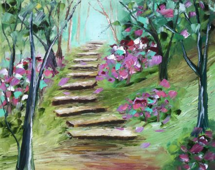 Garden Pathway by PM-Anderson