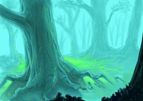 Woods by i-am-mighty