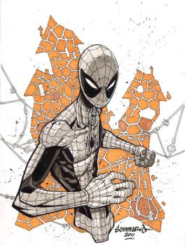 Spider-Man :: Sketch 02 by Red-J