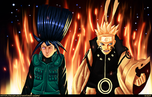 Naruto 615: Naruto and Hinata by ksop