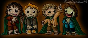 Little Big Middle-Earth by Deathlydollies13