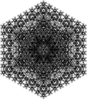 Metatron's Cube Fractals 3 by FriskyNibblet