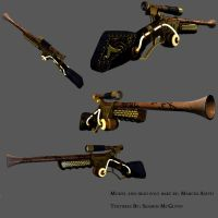 Steam Punk Rifle by chewsti