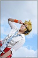 Vocaloid: Up In the Sky by CosplayerWithCamera