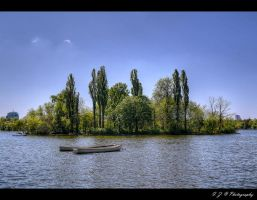 spring on the lake by Iulian-dA-gallery