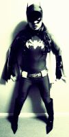 66 Batgirl Cosplay - Back Against the Wall? by ozbattlechick