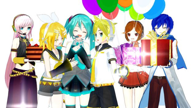 [MMD] Happy Birthday Miku-chan! (2016) by SeeUVocaloid3channel