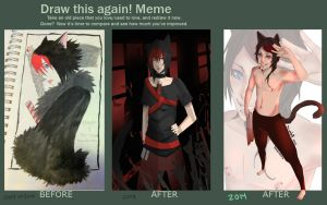 Meme  Before And After by Watolf