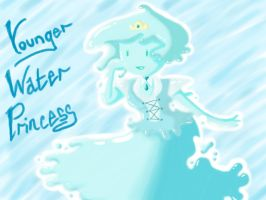 Adventure Time Younger Water Princess by iloveanime9251