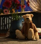 Teddy greetings by Lluvia