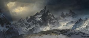 Sharp Mountain by MaxiimusT
