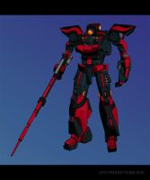 RED MECHA... by UEGProductions
