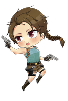 Lara Croft Chibi by fifi-kawaii