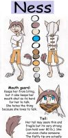 Ness and Koo [reference sheet] by AwesomeWaffle11