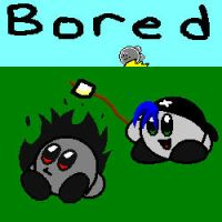 Bored -Shadowkirby's Contest- by stormcannon1