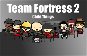 Tf2 Chibi Things Ultra Colorful Mega Edition by StillApony