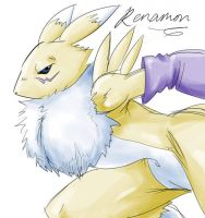 Renamon is back by DAgilityRei