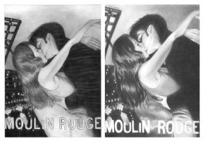 moulin rouge before and after by jojokersina