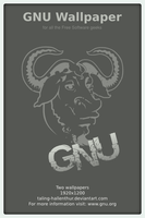GNU Wallpaper by taling-hallenthur