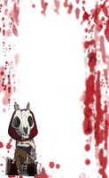 Bloody journal bg by forgetSanity