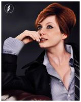 Christina Hendricks Portrait by namiociarz