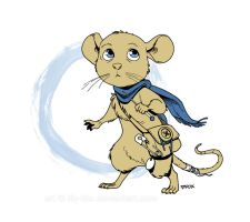 A heroic little mouse by lily-fox