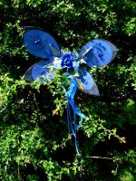 Babay Blue Fairy Wings by Twinkleallday