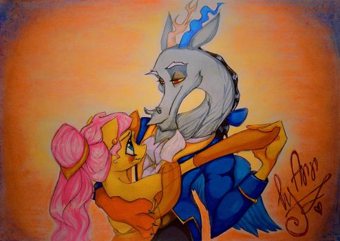 Beauty and the Beast by byannss
