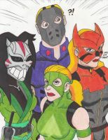 Young Justice Family by Crash2014