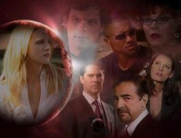 Criminal Minds-The Team-JJ by LuluDarling