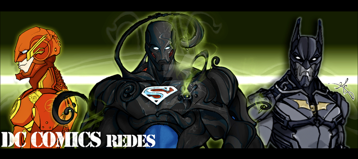 DC comics Redes by redemption88