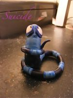 Suicide -EA Leech- by Gothic-Hige