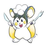 Julia the Emolga by bugbyte