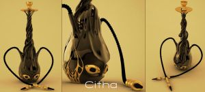 Water Octopus Pipe by Citha