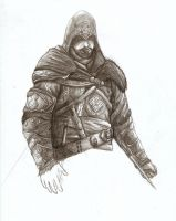 Ezio AC:Revelations -WIP- by britolitos96