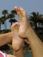 Asian Soles 5 by cum-on-her-feet