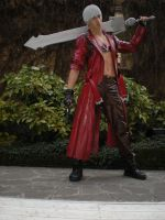 Dante with sword by DanteNeverCry