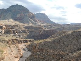 Virgin River Gorge, AZ 2135 by archambers