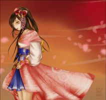 Oichi in Samurai Warriors 3 by Draven4157