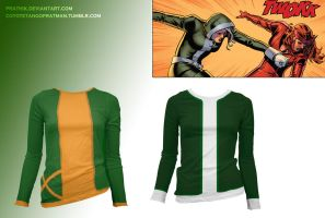 XLadies - Rogue Shirts by prathik