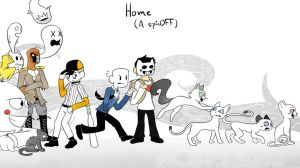 Home: A SpinOFF Wallpaper by asclepiusartist