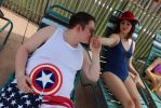 Cap and Peggy by SceneOfTheCrime