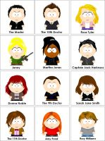 Doctor Who- South Park Style by SilverSapphire495