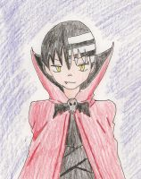 Death the Kid-Vampire Style by TheArtgrrl