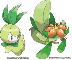 Petilil and Lilligant