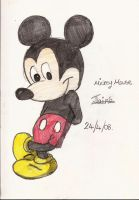 Mickey Mouse by jazzamatazz1993
