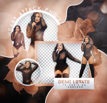 +Demi Lovato Pack Png by Heart-Attack-Png