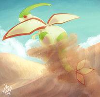Pokemon: Flygon by Kepidemic