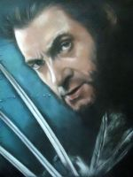 wolverine by blackblacksea